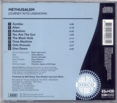 cd methusalem - journey into the unknown (imp.)