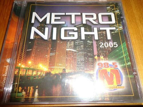 cd  metro night 2005 lacrado
