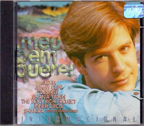 cd meu bem querer - trilha sonora internacional - novo***