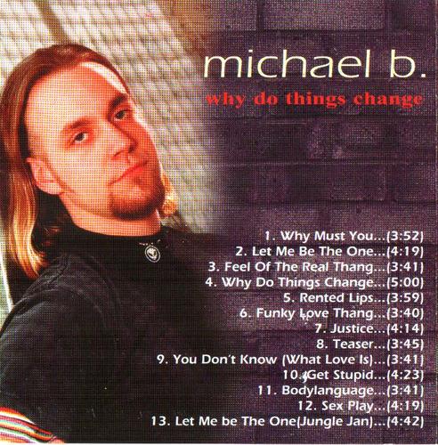 cd michael b. - whay do things change