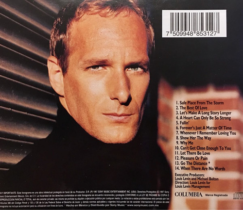 cd michael bolton all that matters
