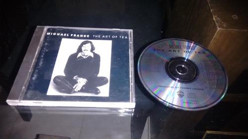 cd michael franks the art of tea importado,en formato cd