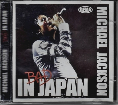 cd michael jackson bad in japan - lacrado
