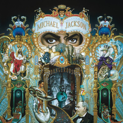 cd : michael jackson - dangerous (cd)
