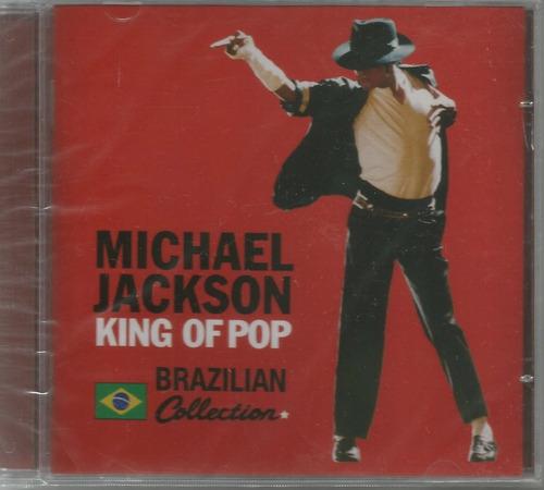 cd michael jackson - king of pop / brazilian collection novo