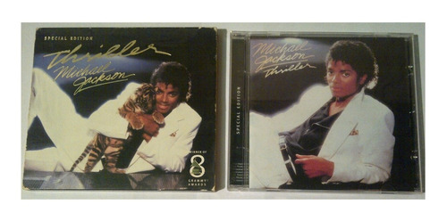 cd - michael jackson - thriller - special edition - original