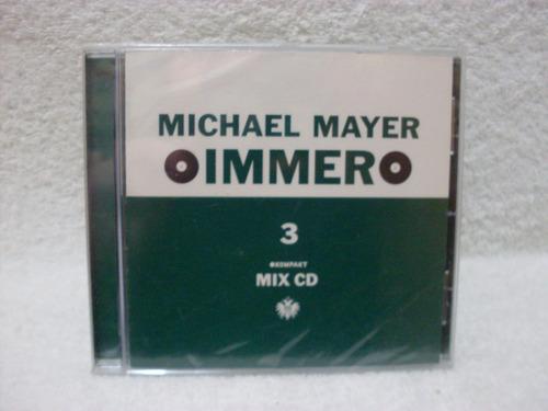 cd michael mayer- immer 3- importado- lacrado de fábrica