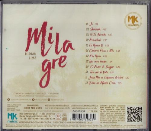 cd midian lima milagre mk b11