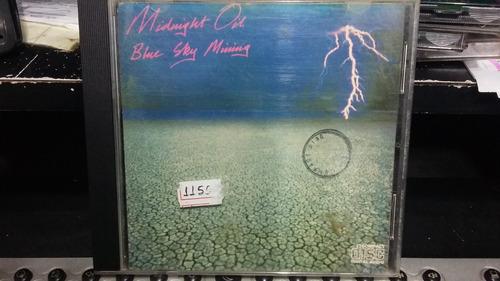 cd - midnight oil - blue sky mining
