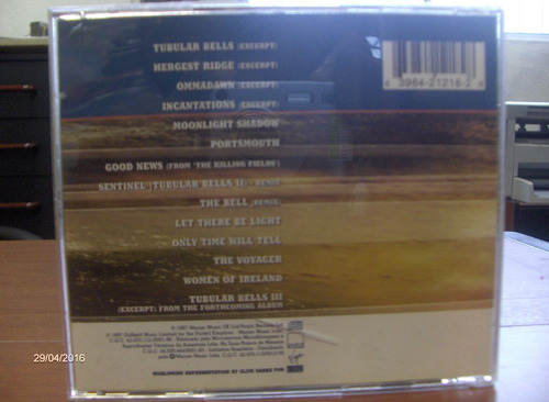 cd mike oldfield - the essential