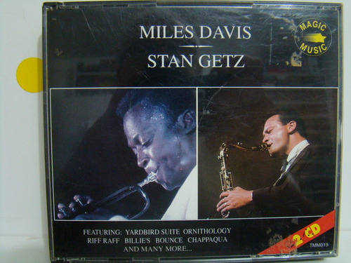 cd - miles davis / stan getz - importado