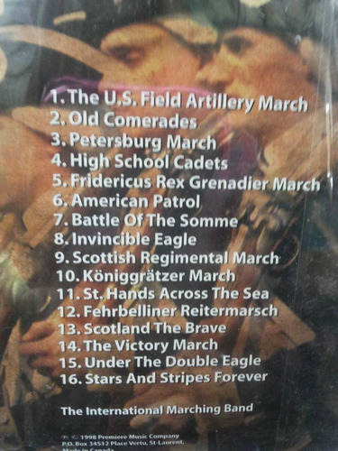 cd military marches 16 marching favorities (importado)
