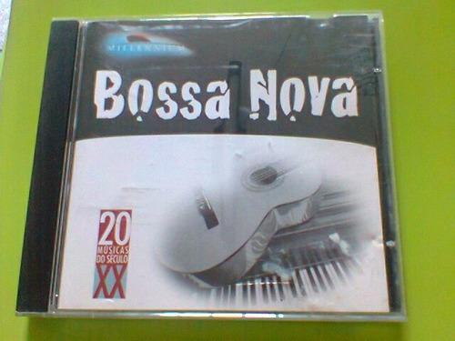 cd millennium   /  bossa nova     --  1999    (frete grátis)
