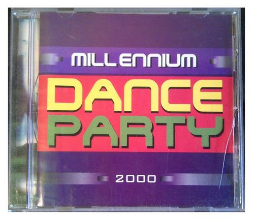 cd - millennium - dance party - 2000 - original