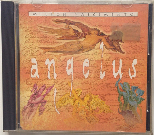 cd - milton nascimento angelus.
