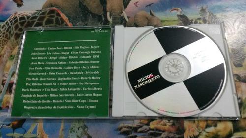 cd milton nascimento brilhantes original
