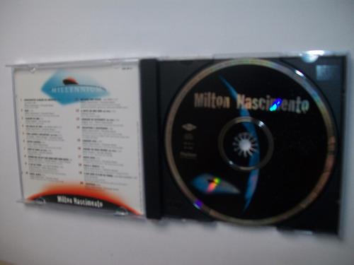 cd milton nascimento - millennium -  20 músicas do século xx