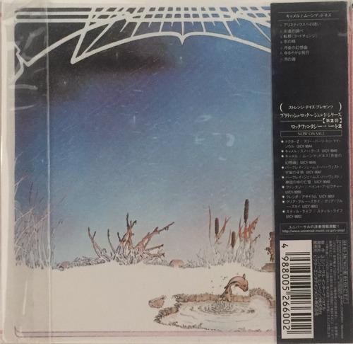 cd mini lp - camel - moonmadness - importado japan lacrado
