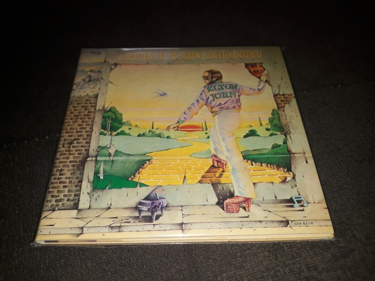 Cd Mini Lp Elton John Goodbye Yellow Brick Road Capa Tripla R 200 00 Em Mercado Livre
