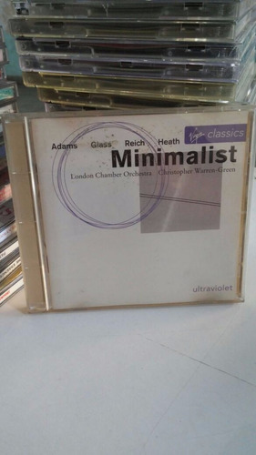 cd minimalist - adams, glass, reich, heath