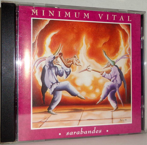 cd minimum vital - sarabandes