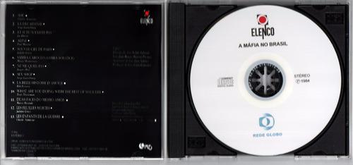 cd minissérie a máfia no brasil 1984  - série colecionador