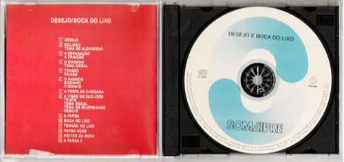 cd minissérie boca do lixo / desejo  - série colecionador