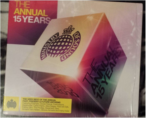 cd ministry of sound - the annual 15 years