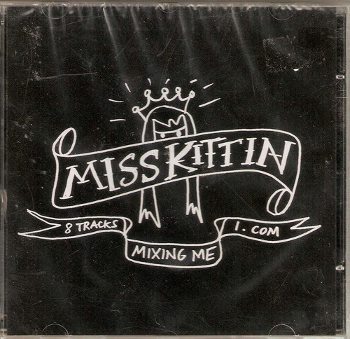 cd miss kittin - mixing me - novo***