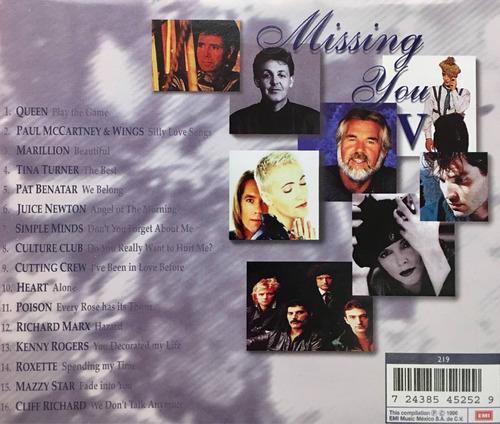 cd missing you v queen paul mccartney marillion tina turner