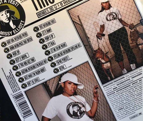 cd missy elliott this is not a test made in usa