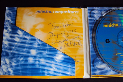 cd miúcha  compositores  (autografado) capa digipack