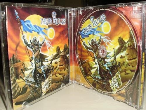 cd mob rules - savage land ( power metal )