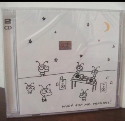 cd moby wait for mi remixes doble nuevo original