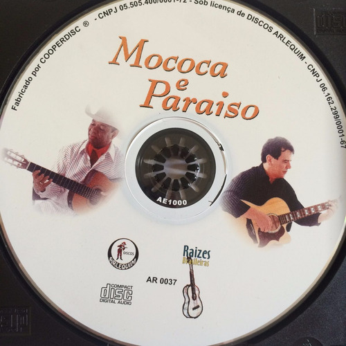 cd mococa e paraíso (com participações) hbs