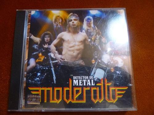 cd moderatto detector de metal