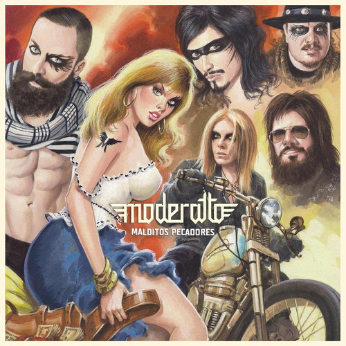cd moderatto malditos pecadores 15 canciones tracks