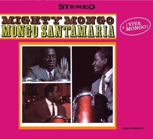 cd : mongo santamaria - mighty mongo /  viva mongo (limited.