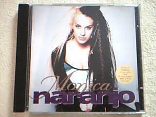 cd monica naranjo - monica naranjo - cd primera edicion 1994