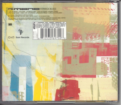 cd  mono - formica blues - novo e lacrado  -  b219