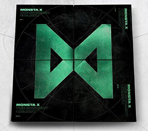 cd : monsta x - the connect : dejavu [random ver.]