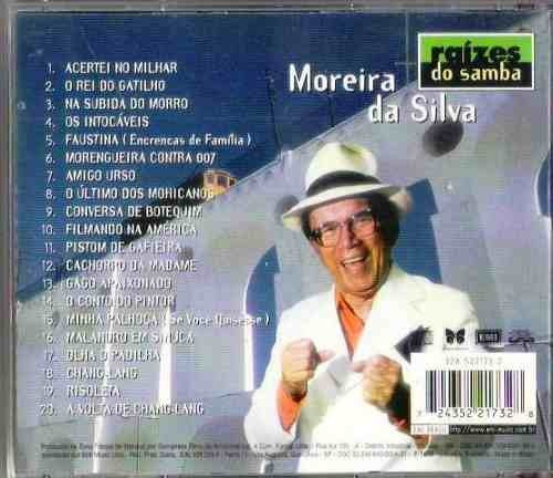cd   moreira da silva - raízes do samba -  b304