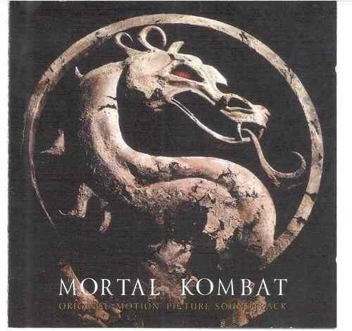 cd   mortal kombat  /  trilha sonora    -  b314