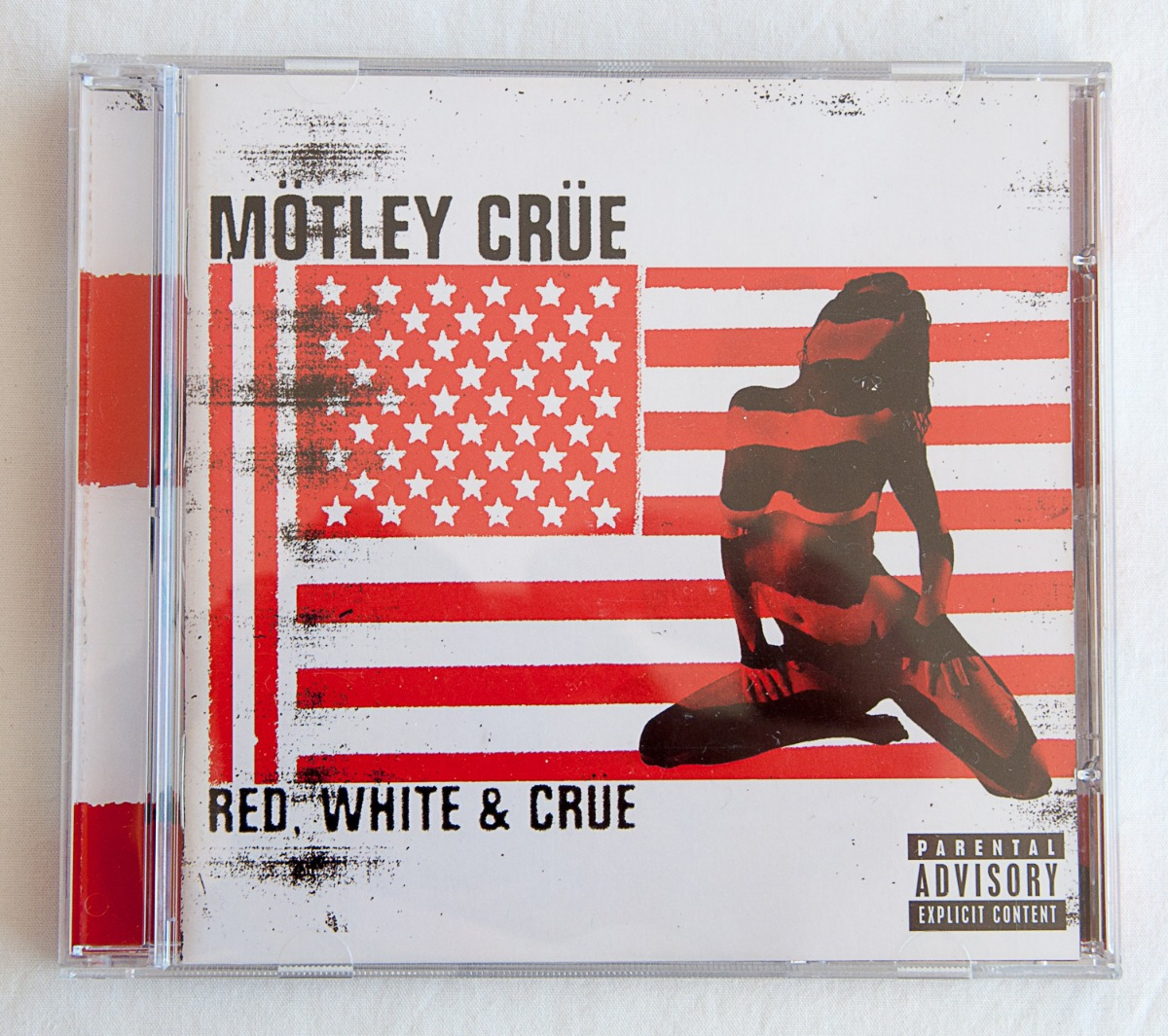 d8b28bacf7e93 Cd Mötley Crüe - Red, White & Crue
