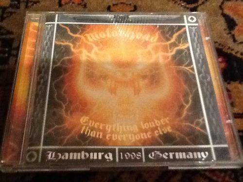 cd motorhead - everything louder than everyone else*duplo*