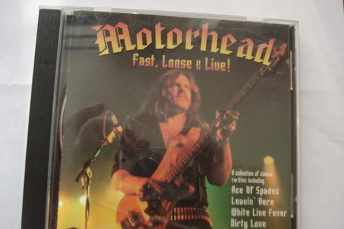 cd motorhead fast, loose & live !