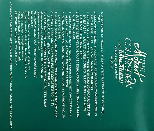 cd mozart collection john rutter importado