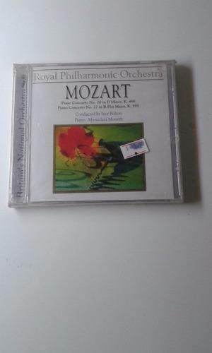 cd mozart-royal philharmonic orquestra novo frete grátis