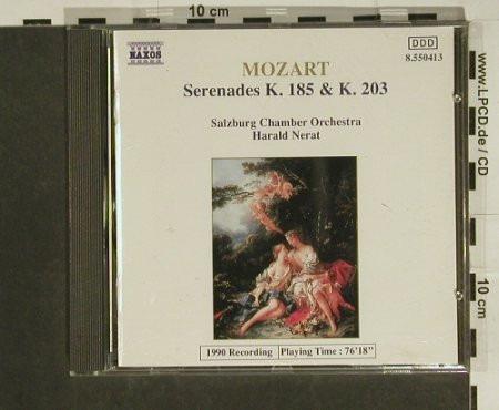 cd mozart serenades k. 185 y k. 203