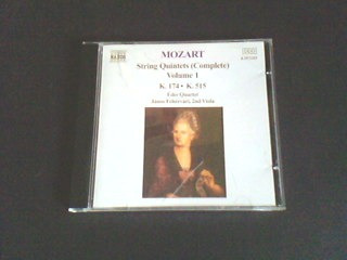 cd  mozart - string quintets
